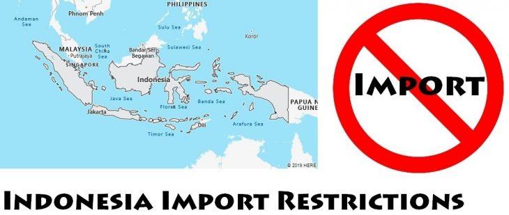 Indonesia Import Regulations