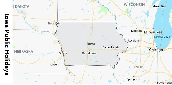 Iowa Public Holidays