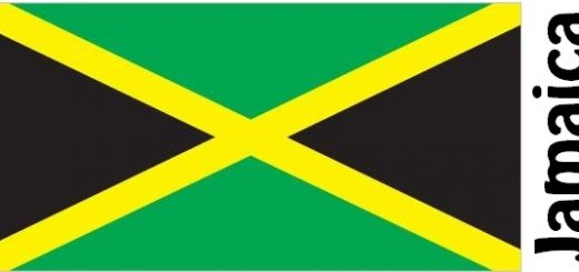 Jamaica Country Flag