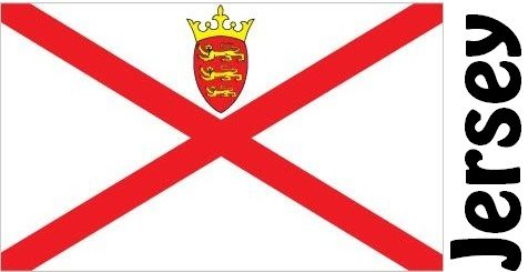 Jersey Country Flag