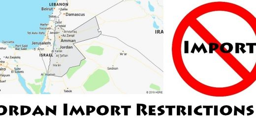 Jordan Import Regulations