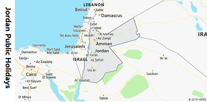 Jordan Public Holidays
