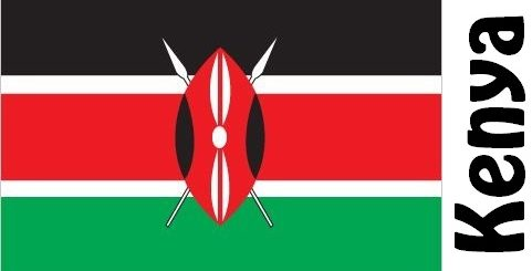 Kenya Country Flag