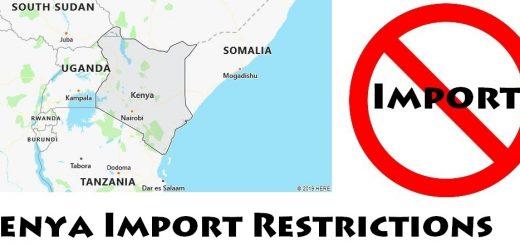 Kenya Import Regulations