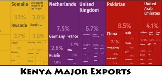 Kenya Major Exports