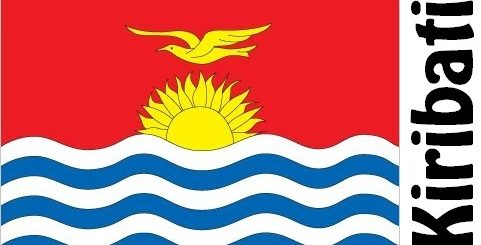 Kiribati Country Flag