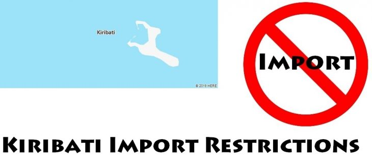 Kiribati Import Regulations