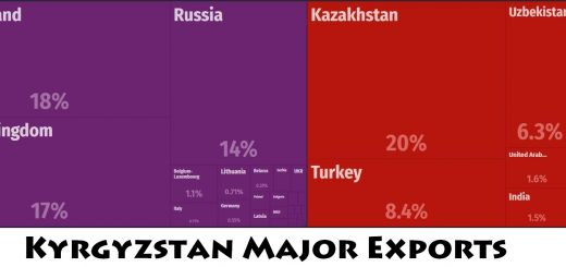Kyrgyzstan Major Exports
