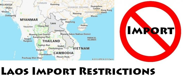Laos Import Regulations