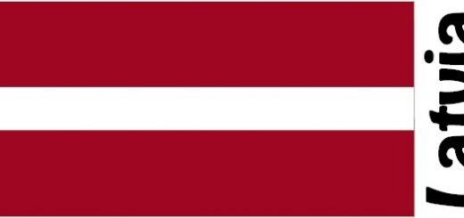 Latvia Country Flag
