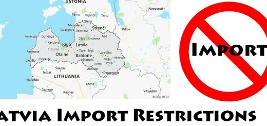 Latvia Import Regulations