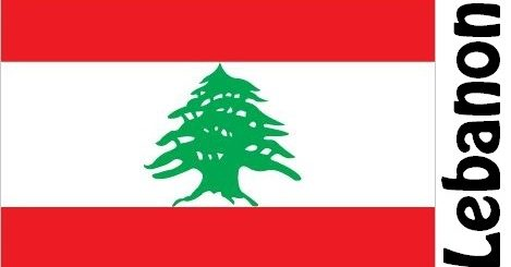 Lebanon Country Flag