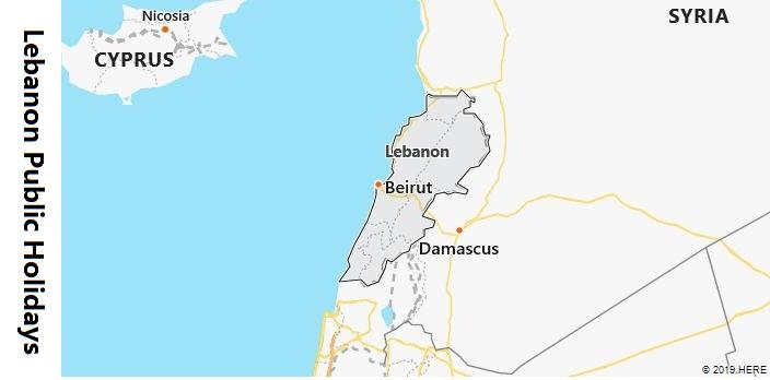 Lebanon Public Holidays