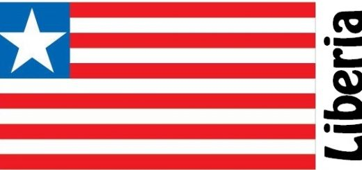 Liberia Country Flag