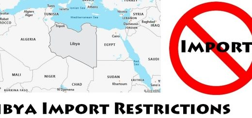 Libya Import Regulations