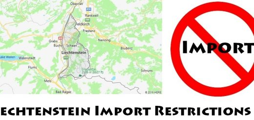 Liechtenstein Import Regulations