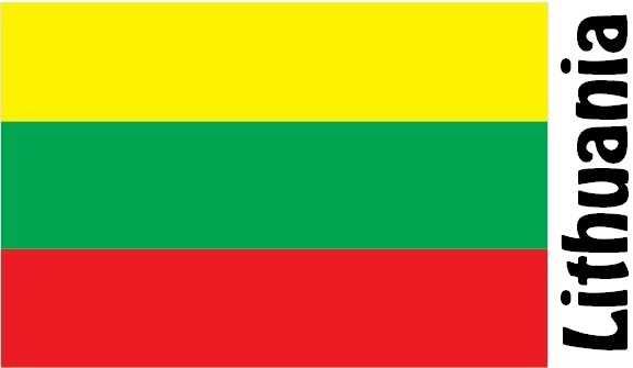 Lithuania Country Flag