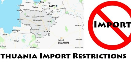 Lithuania Import Regulations