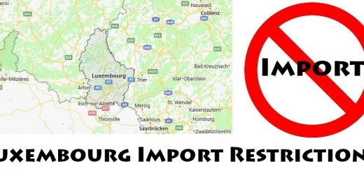 Luxembourg Import Regulations