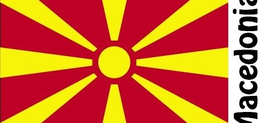 Macedonia Country Flag