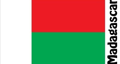 Madagascar Country Flag