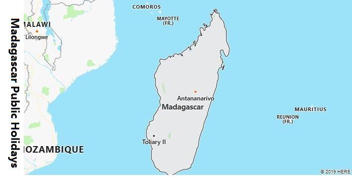 Madagascar Public Holidays