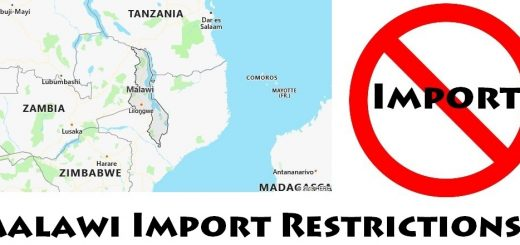 Malawi Import Regulations