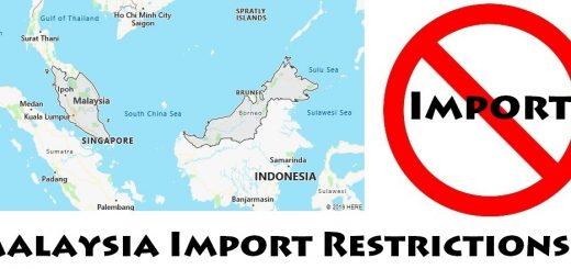 Malaysia Import Regulations