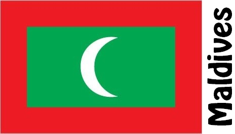 Maldives Country Flag