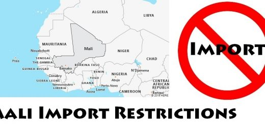 Mali Import Regulations