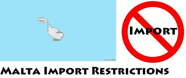 Malta Import Regulations
