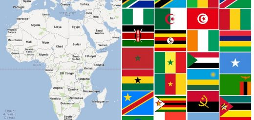 Map of African Countries