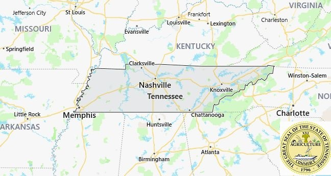 Cities In Tennessee Map List of Cities and Towns in Tennessee – Countryaah.com