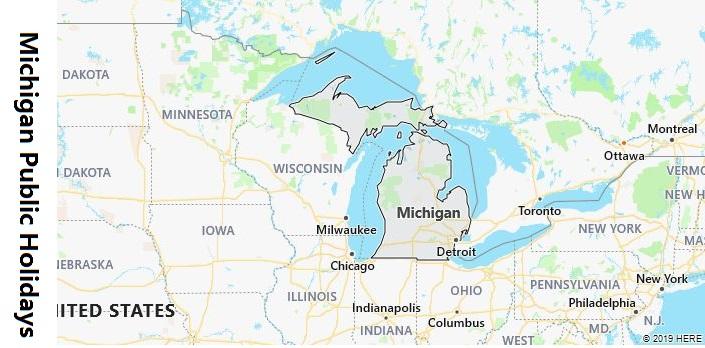 Michigan Public Holidays
