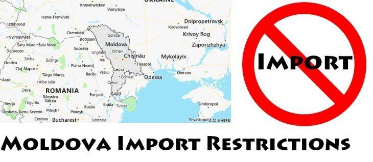 Moldova Import Regulations