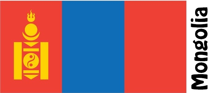 Mongolia Country Flag