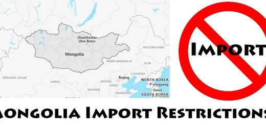 Mongolia Import Regulations