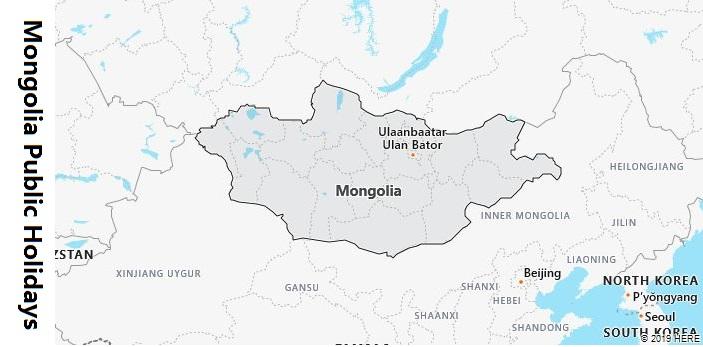 Mongolia Public Holidays