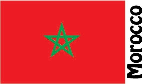 Morocco Country Flag