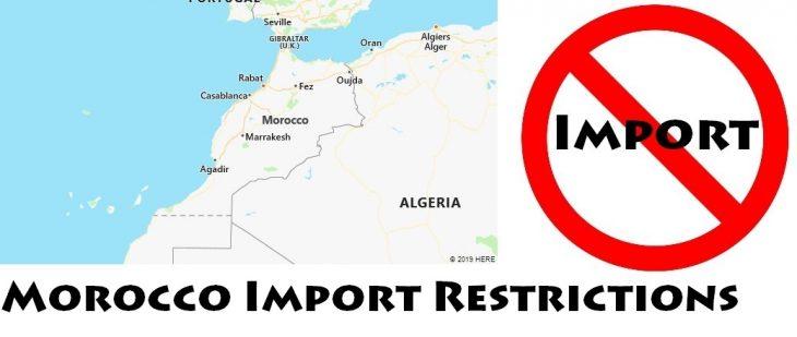 Morocco Import Regulations