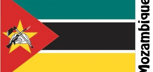 Mozambique Country Flag
