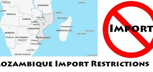 Mozambique Import Regulations