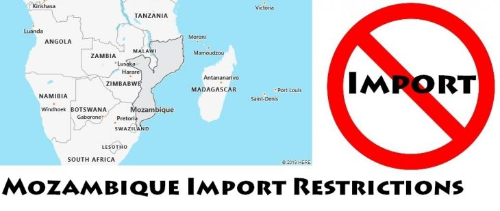 Mozambique Import Regulations