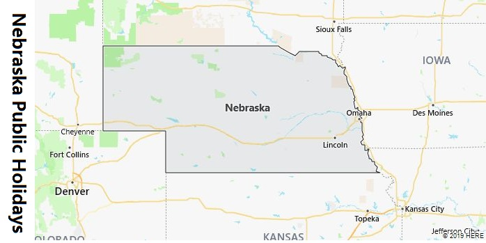 Nebraska Public Holidays