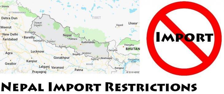 Nepal Import Regulations