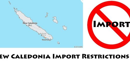 New Caledonia Import Regulations