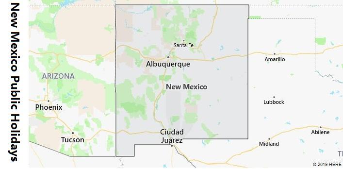 New Mexico Public Holidays
