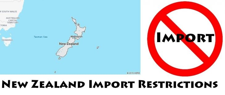 New Zealand Import Regulations