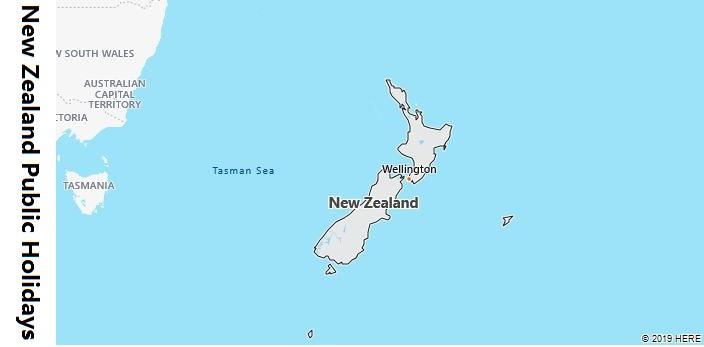 New Zealand Public Holidays