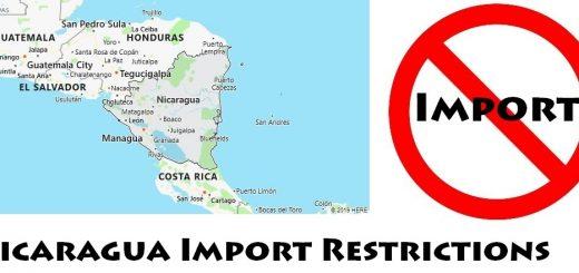 Nicaragua Import Regulations